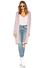 Lovers + Friends Miles Duster in Pink Lavender