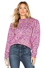 Lovers + Friends Justice Sweater in Purple