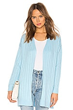 Lovers + Friends Tylar Cardigan in Light Blue