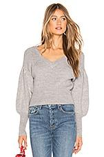 Lovers + Friends Dash Sweater in Heather Grey