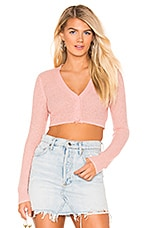 Lovers + Friends Aileen Cardi in Pink