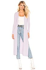 Lovers + Friends Page Cardigan in Light Lavender