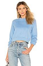 Lovers + Friends Essential Sweatshirt in Sky Blue