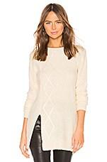 Lovers + Friends Wil Sweater Dress in Ivory