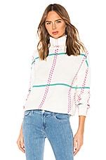 Lovers + Friends Totally Sweater in Pastel Plaid