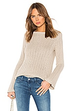 Lovers + Friends Groovin Sweater in Beige
