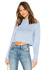Lovers + Friends Bevyn Sweater in Light Blue
