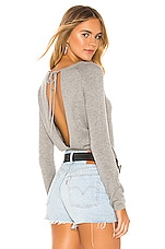Lovers + Friends Natalia Sweater in Grey