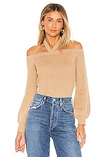 Lovers + Friends Granada Sweater in Nude