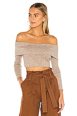 Lovers + Friends Genesis Sweater in Cobblestone Taupe