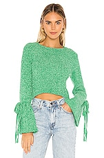 Lovers + Friends Parkwood Sweater in Clover Green