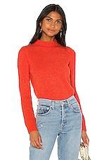 Lovers + Friends Sawyer Sweater in Orange