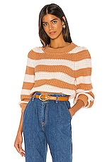 Lovers + Friends Avah Sweater in Butterscotch