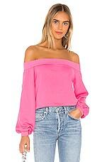 Lovers + Friends Katie Sweatshirt in Pink