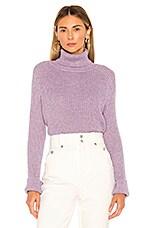 Lovers + Friends Casanova Sweater in Dusty Purple