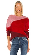 Lovers + Friends Isabel Sweater in Paprika