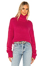 Lovers + Friends Tartlet Turtleneck in Pink