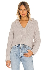 Lovers + Friends Cold Comfort Sweater in Grey