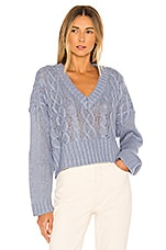 Lovers + Friends Topher Sweater in Periwinkle