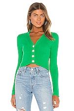 Lovers + Friends Hallie Cardigan in Green