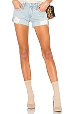 Dylan Slouchy Boyfriend Short in Laurel