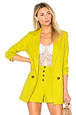 Lovers + Friends Leslie Blazer in Lime