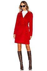 Lovers + Friends Omni Coat in Red