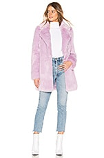 Lovers + Friends Tillie Coat in Lilac