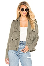 Lovers + Friends Winnie Jacket in Green