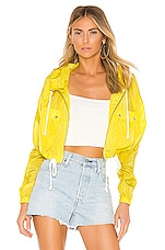 Lovers + Friends Bonnie Jacket in Neon Yellow