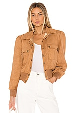 Lovers + Friends Felix Jacket in Camel