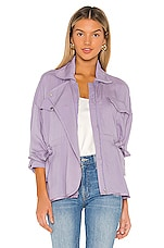 Lovers + Friends Patty Jacket in Lilac