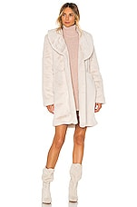 Lovers + Friends Donna Coat in Creamy White