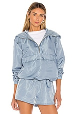 Lovers + Friends Lydia Pullover Jacket in Storm Blue