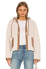 Lovers + Friends Ziggy Coat in Toasted Almond