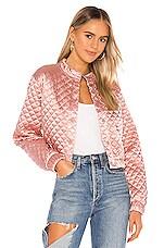 Lovers + Friends Kikka Jacket in Pink