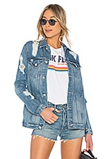 Lovers + Friends James Denim Jacket in Huntley