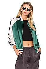Lovers + Friends x REVOLVE The Exclusive Bomber in Forest Green