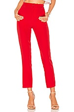 Lovers + Friends Tempo Skinny Pants in Red