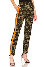 Lovers + Friends Tailored Track Trouser in Camo