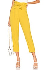 Lovers + Friends Irving Pant in Yellow
