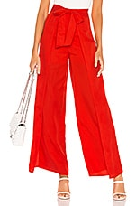 Lovers + Friends Bluebell Pants in Red