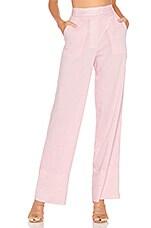 Lovers + Friends Brady Pant in Light Pink