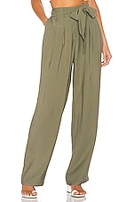 Lovers + Friends Janet Pants in Olive