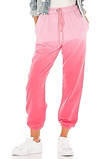 Lovers + Friends Sammy Jogger Pant in Pink Ombre