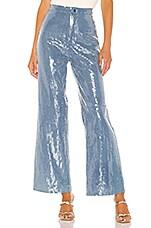 Lovers + Friends Jaxon Pant in Light Denim Blue