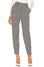 Lovers + Friends Aisling Pant in Black & White