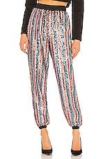 Lovers + Friends Cambridge Jogger Pant in Multi