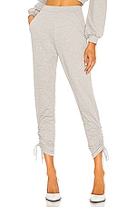 Lovers + Friends Evette Jogger in Heather Grey