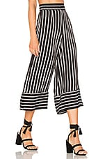 Lovers + Friends Chica Cropped Pants in Stripe